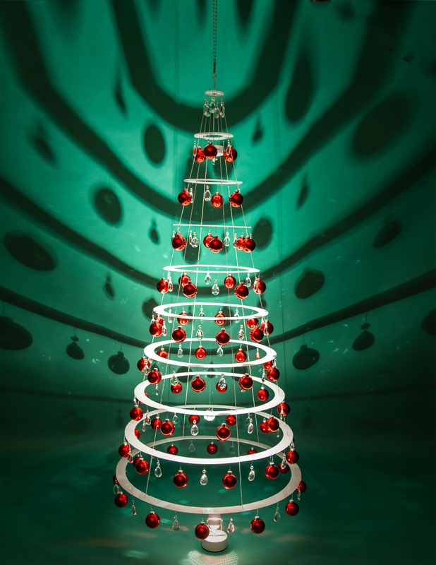 75 decorated tree modern christmas trees - Christmas Tree Cover