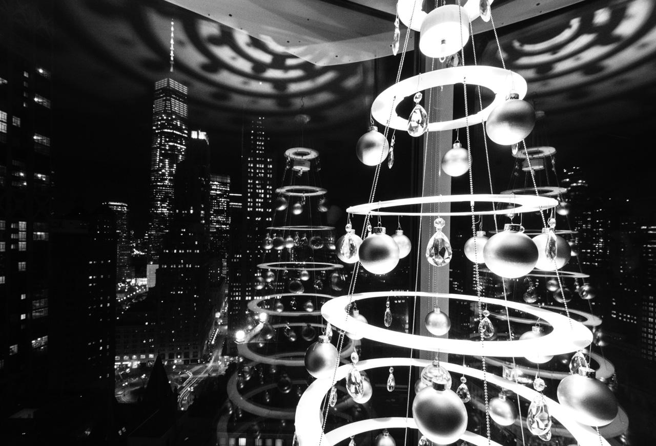 New York Christmas Tree Modern Holiday Decor