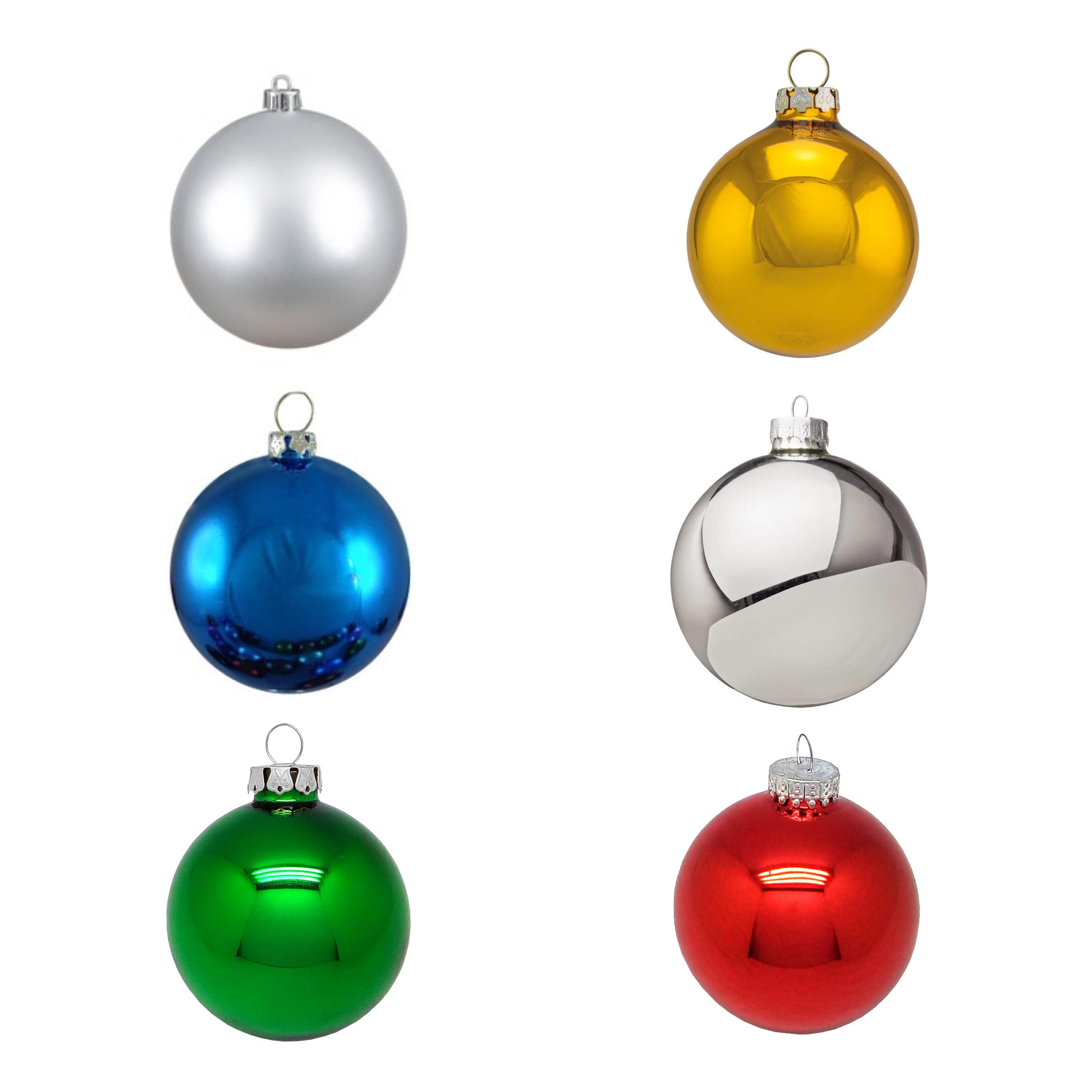 Glass Bulb Ornaments