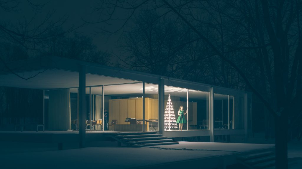 Where is the Farnsworth House