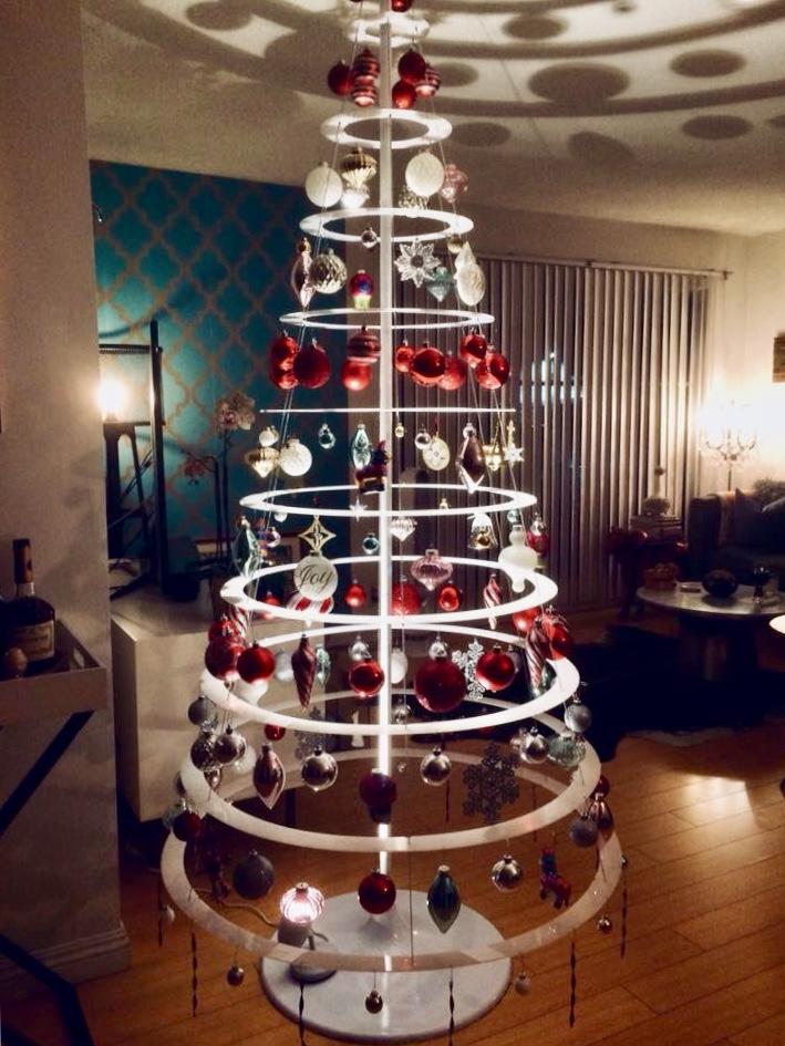 alternative unique modern christmas tree