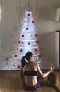 Wall Modern Christmas Tree Decoration Ideas