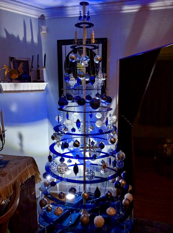 Buy Blue Modern Christmas Trees Sapphire Blue Christmas Tree