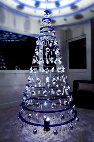 Buy Blue Modern Christmas Trees | Sapphire Blue Christmas Tree