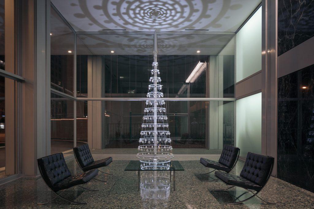 Tall Modern Christmas Tree