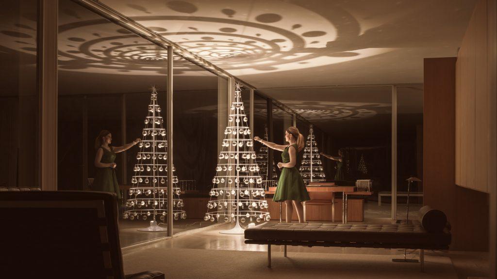 Modern Christmas Tree Farnsworth House
