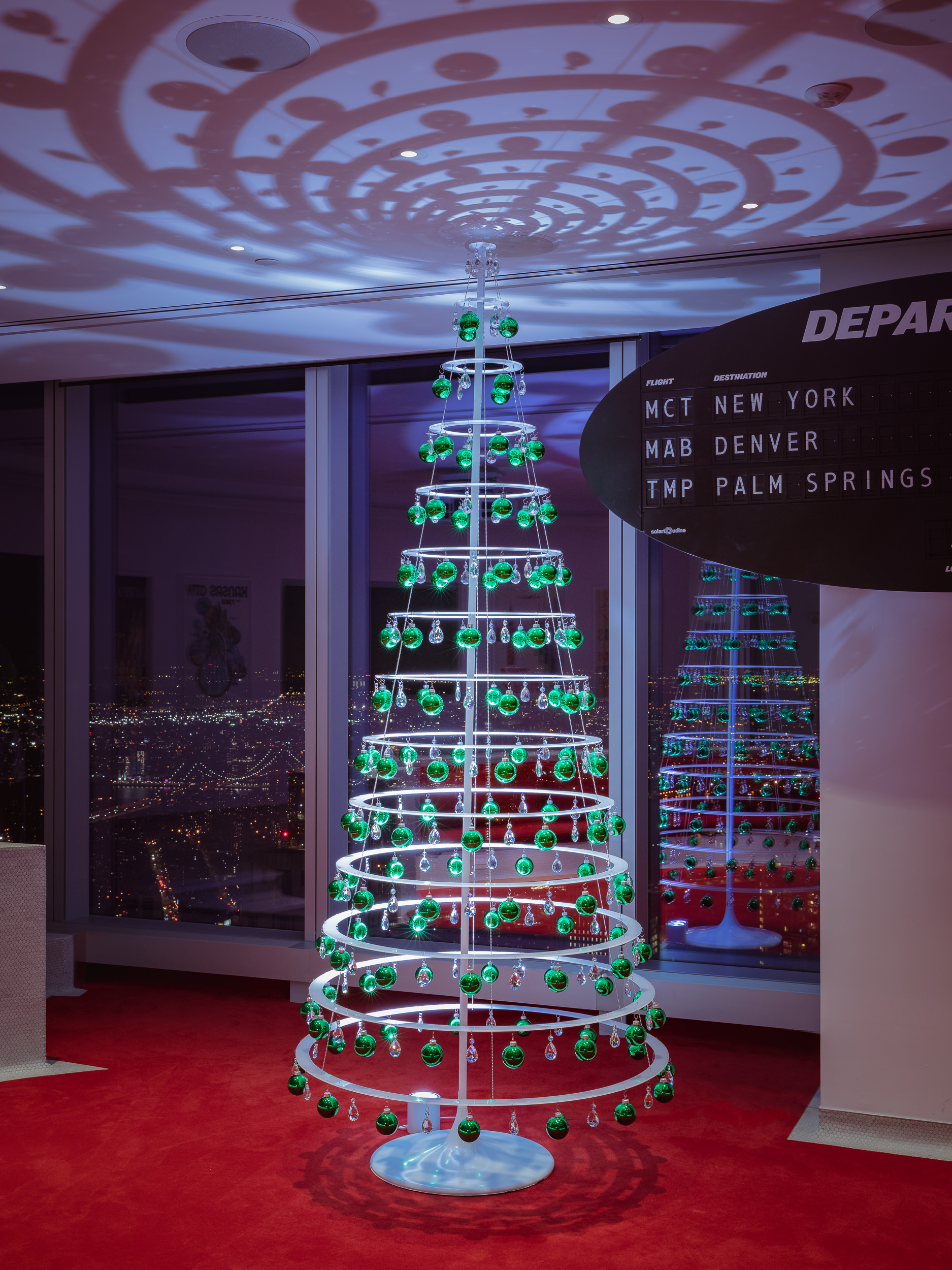 Modern Christmas Trees.Soaring 10 Decorated Tree