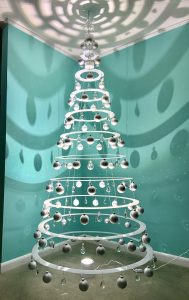 White Modern Christmas Tree