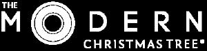 Modern Christmas Trees Logo